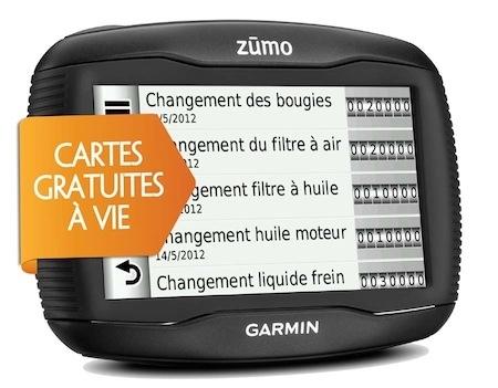 GPS Garmin Zumo 390 LM Plus: 30 euros offerts pour Noël