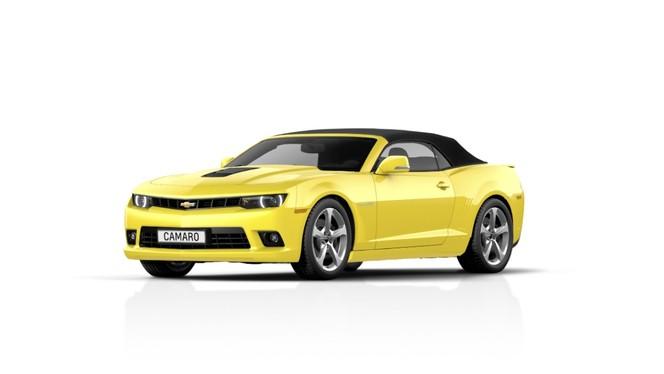 Toutes les nouveautés du salon de Francfort 2013 - Chevrolet Camaro cabriolet restylée : suffisant