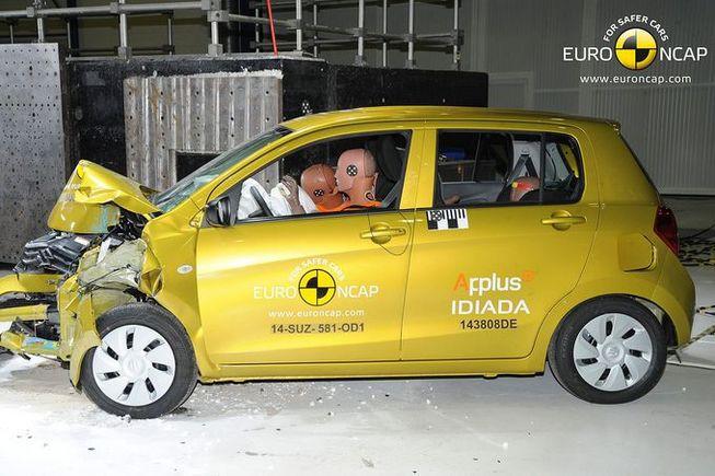 Euro Ncap : 4 étoiles pour Renault Mégane et seulement 3 pour Suzuki Celerio