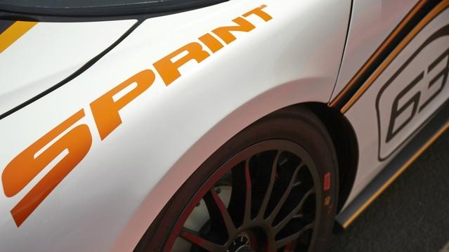 McLaren annonce une 570S Sprint pour la piste