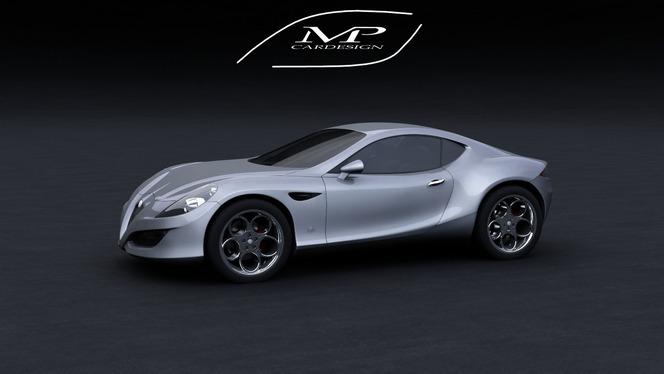 Alfa Romeo Carlo Chiti Concept: intéressant...