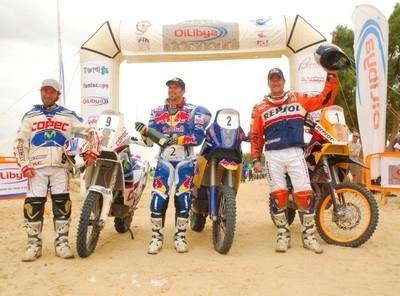 Les pneus Pirelli Scorpion Rally ont trustés les 2 premières places du rallye de Tunisie 2009.