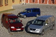 VUL - Volkswagen Caddy: la fiche technique