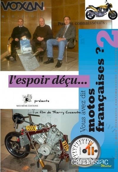 Idée cadeau: DVD Voxan, l'espoir déçu...