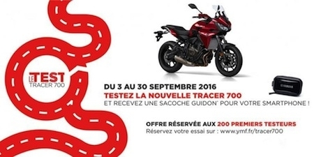 """Le Test"": campagne d'essai Yamaha Tracer 700"