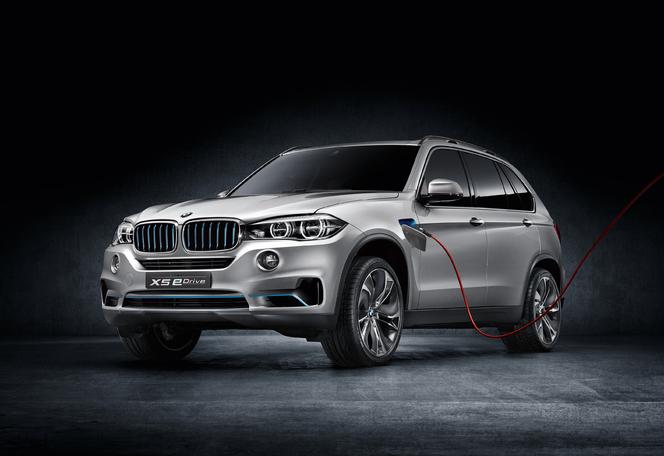 Toutes les nouveautés du salon de Francfort 2013 - BMW X5 e-Drive Concept : l'hybride rechargeable