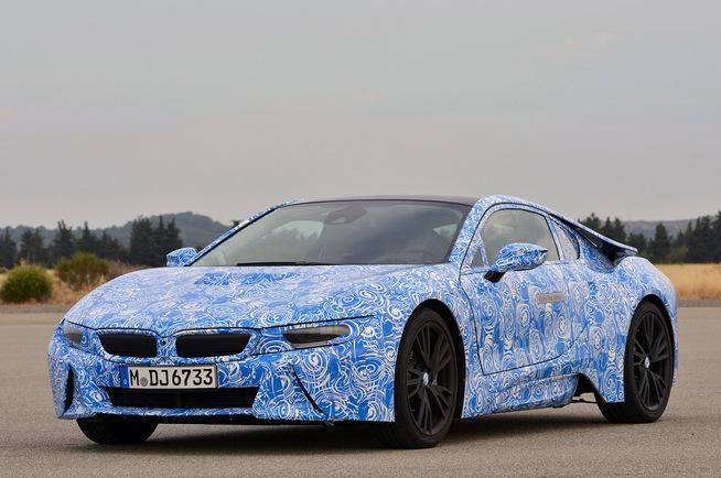 Toutes les nouveautés du salon de Francfort 2013 - BMW i8 : l'écologie premium