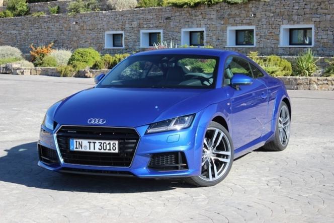 L'Audi TT arrive en concession : troisième acte