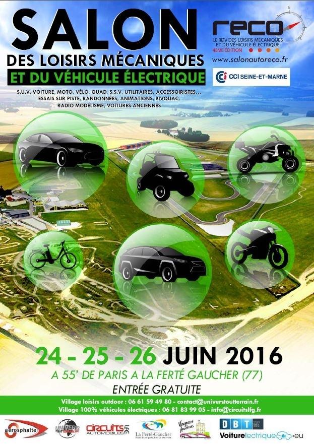 Salon RECO : la voiture électrique sur le circuit de la Ferté Gaucher