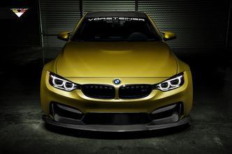 SEMA Show 2014 : Vorsteiner élargit sacrément la BMW M4