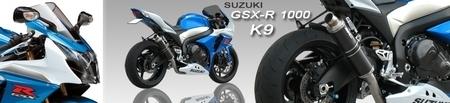 Silencieux SC Project GP et Short Oval pour GSX-R 1000 '09-10
