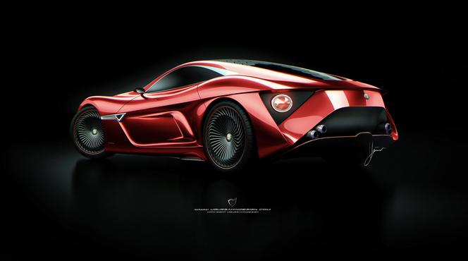 Ugur Sahin Design Alfa Romeo C12 GTS Concept