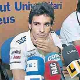 Moto GP: Elias: La visite de Lorenzo.