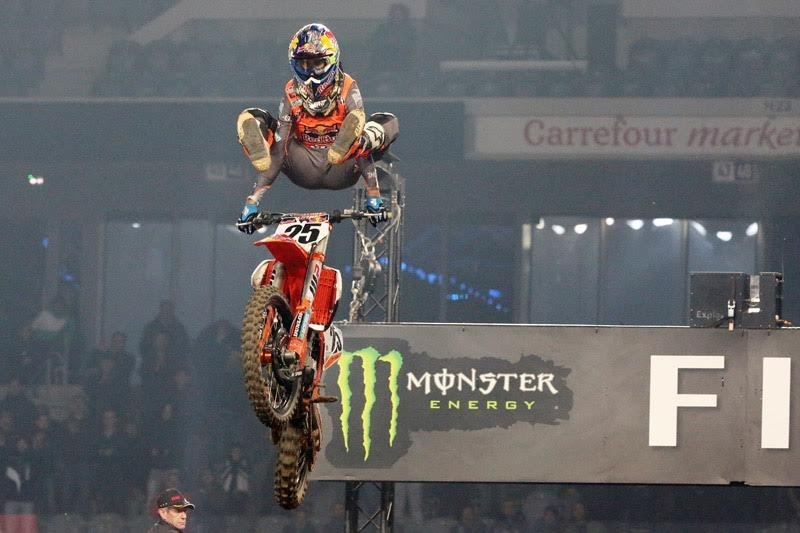 "SX Paris-Lille 2016 : Marvin Musquin ""King of Lille"""