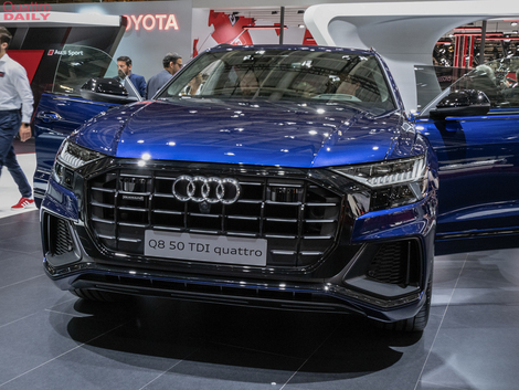 Audi Q8 : elle arrive à point - Vidéo en direct du Mondial de l'auto 2018