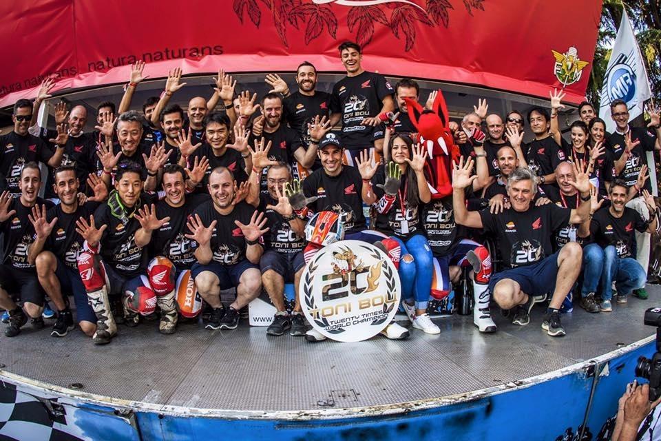 Trial : Toni Bou remporte son 20ème titre mondial !!