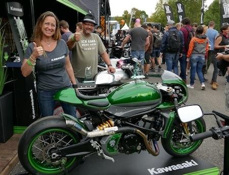 """Préparation: Kawasaki """"The Underdog"""" sur une base de Vulcan S"""