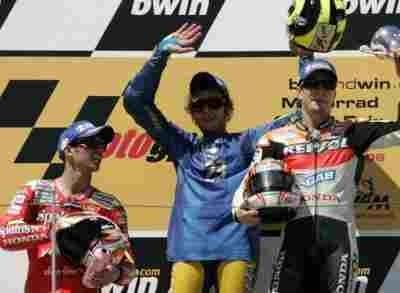 Moto GP: Allemagne: L'an dernier au Sachsenring.