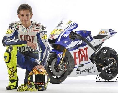 Moto GP - Yamaha: Rossi parle d'abord du réglement