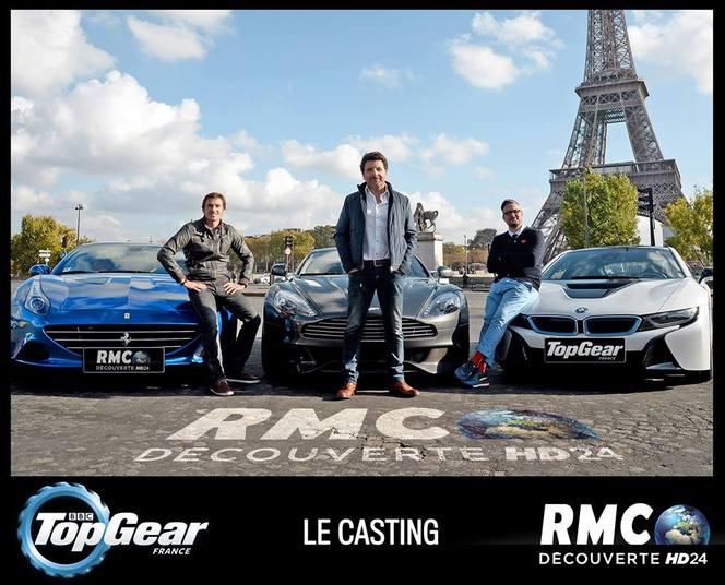 Top Gear France : voici le trio de présentateurs