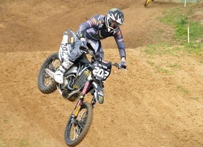 Motocross : Loic Larrieu reprend la moto après sa grave blessure du mois d'octobre