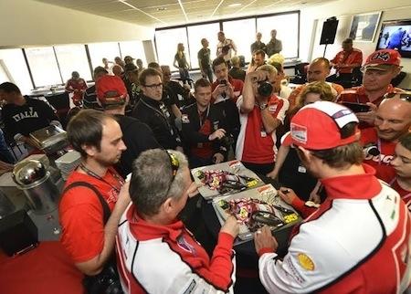 Ducati: vivez le Grand Prix de France au Mans 2015 à l'italienne