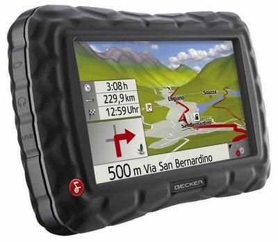 Un Crocodile en guise de GPS : le Becker Z100.