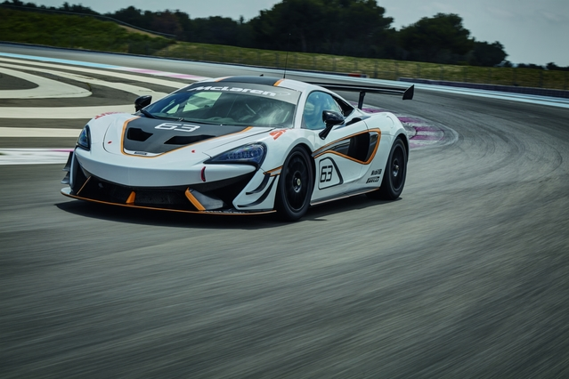McLaren officialise la 570S Sprint