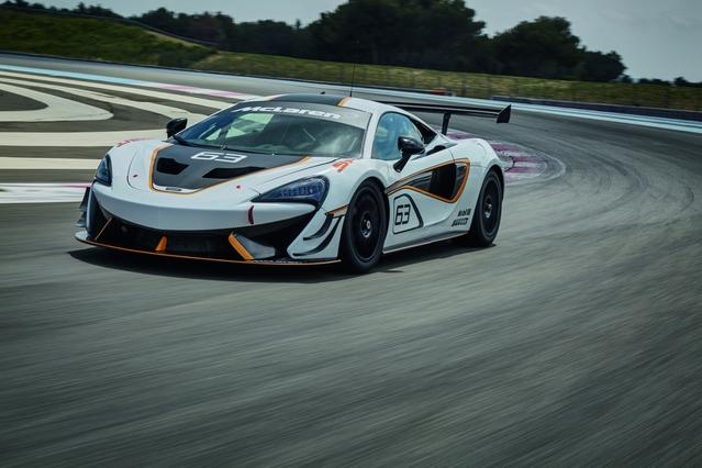 McLaren officialise la 570S Sprint