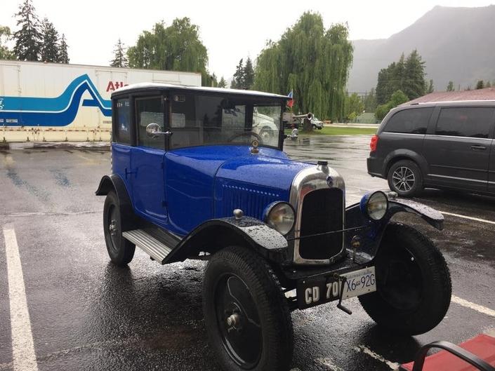 Il va traverser le Canada avec une Citroën de 1923