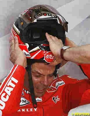 """Moto GP 2008: Carlo Pernat: """"Loris est proche d'un départ""""."""