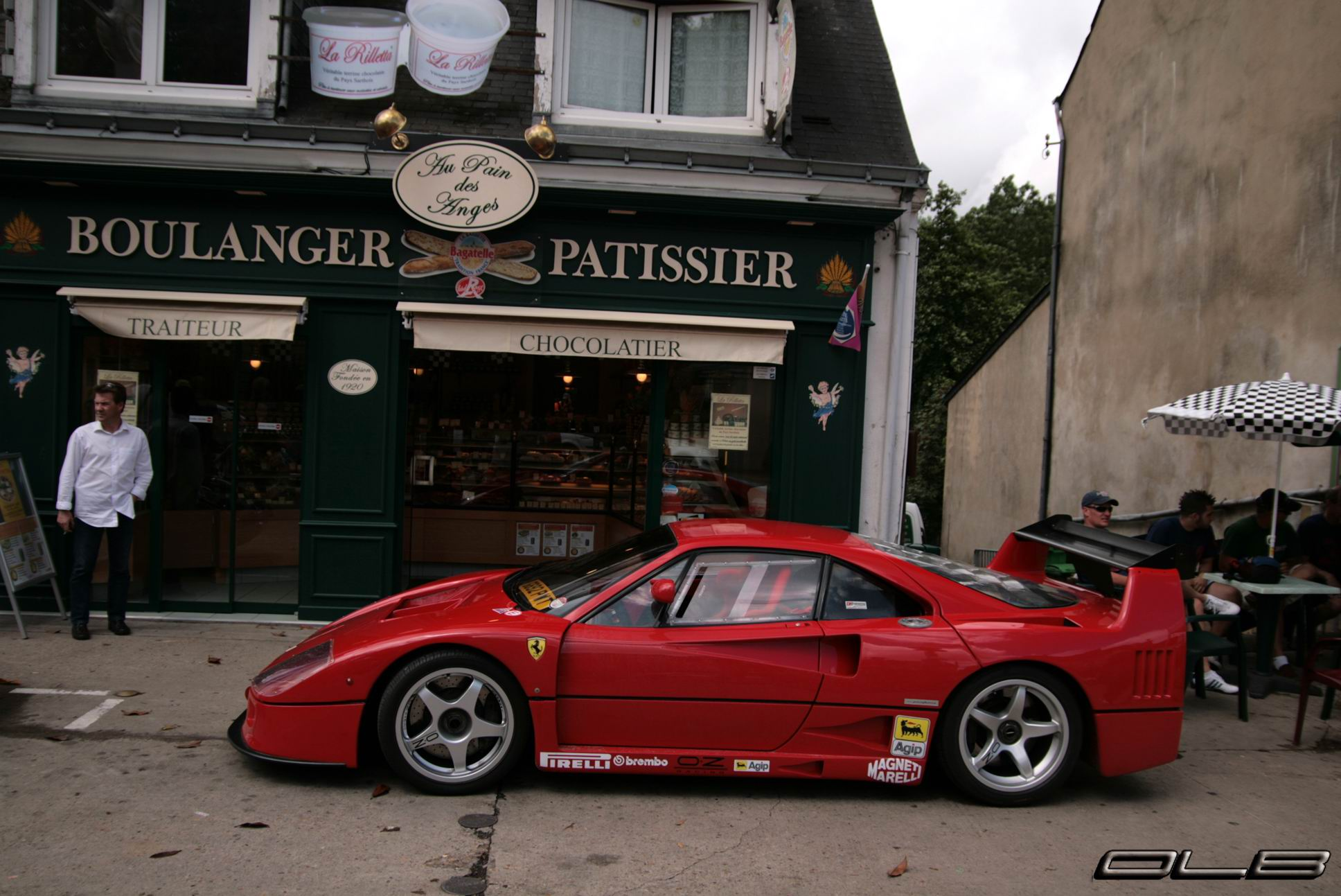 Photo Du Jour Ferrari F40 Lm