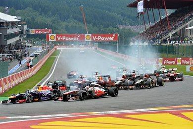 F1 - GP de Belgique : Implacable Vettel