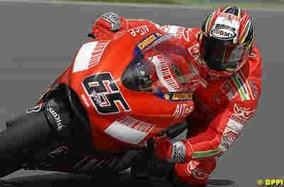 Moto GP 2008: Rien ne presse pour Ducati.