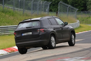 Scoop : Skoda met son futur Kodiaq sur le Nürburgring