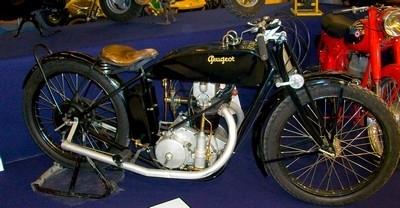 Peugeot 350cc M2 1926.