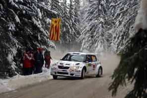 WRC Suède Jour 2 : Loeb patine, Hirvonen s'échappe