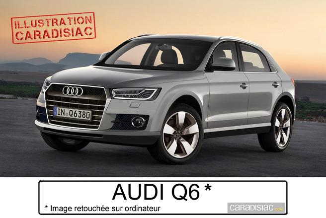 Q6 : un tout-chemin sportif pour Audi