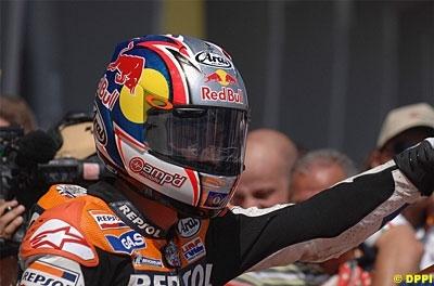 Moto GP: Allemagne: Podium, 3 Hayden.