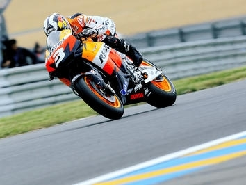Moto GP - France D.2: Pedrosa arrache la pole pour cinq millièmes
