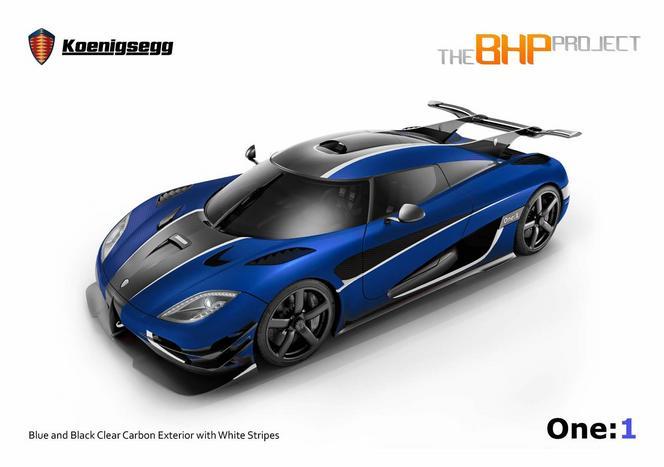 Koenigsegg One:1 RHD: pour les amateurs du genre