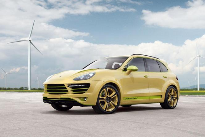 Porsche Cayenne Vantage 2 Lemon par TopCar : le nom est déjà chargé