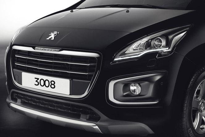 Toutes les nouveautés du salon de Francfort 2013 - Peugeot 3008 restylé: harmonisation oblige