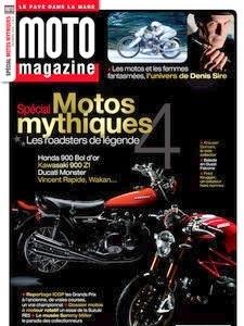 Hors Série Moto Mag spécial motos mythiques: très varié et instructif.
