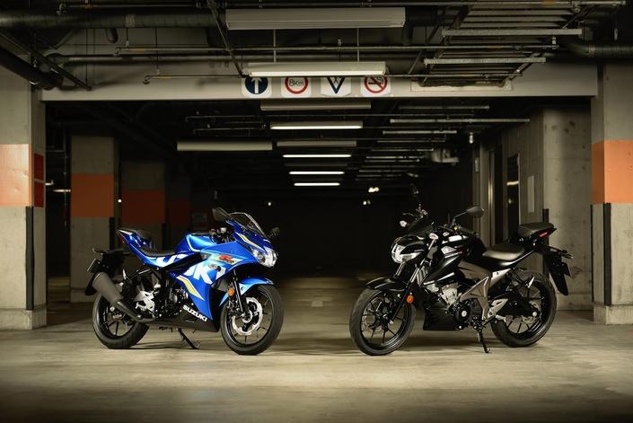 Suzuki: un rappel insolite sur les GSX-S125 et GSX-R125