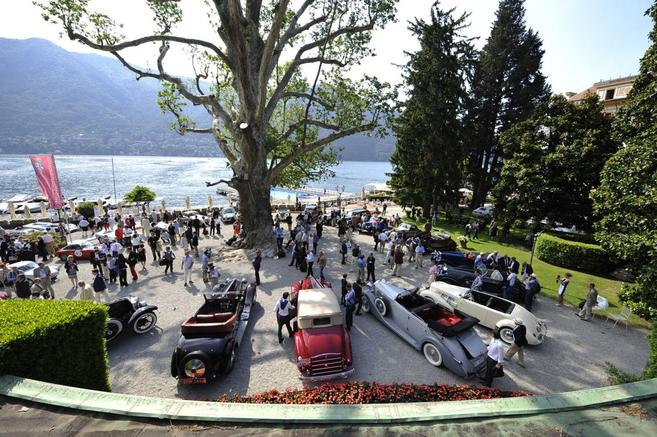 Concours d'élégance de la Villa d'Este : de bien belles autos
