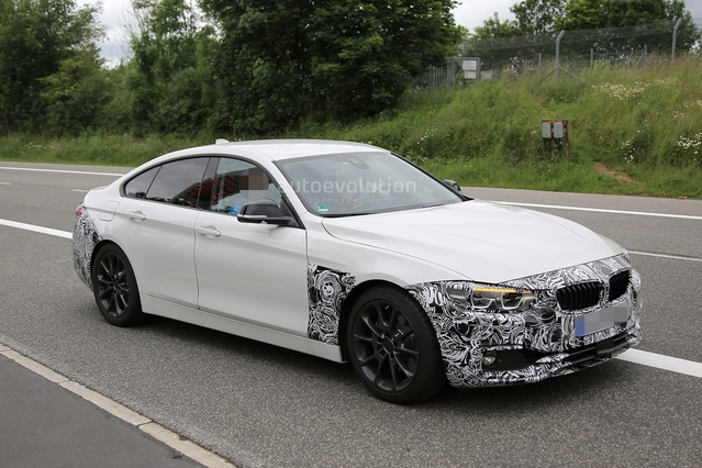 Surprise : la BMW Série 4 Gran Coupé restylée pointe le bout de son nez