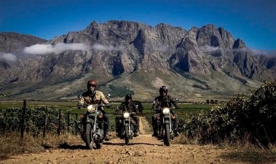Vintage Rides met le cap sur l'Afrique du Sud
