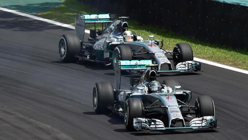 F1 - GP du Brésil : Rosberg réduit l'écart, tout se jouera au dernier Grand Prix