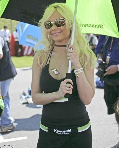 Les demoiselles du Paddock : Grand Prix d'Allemagne